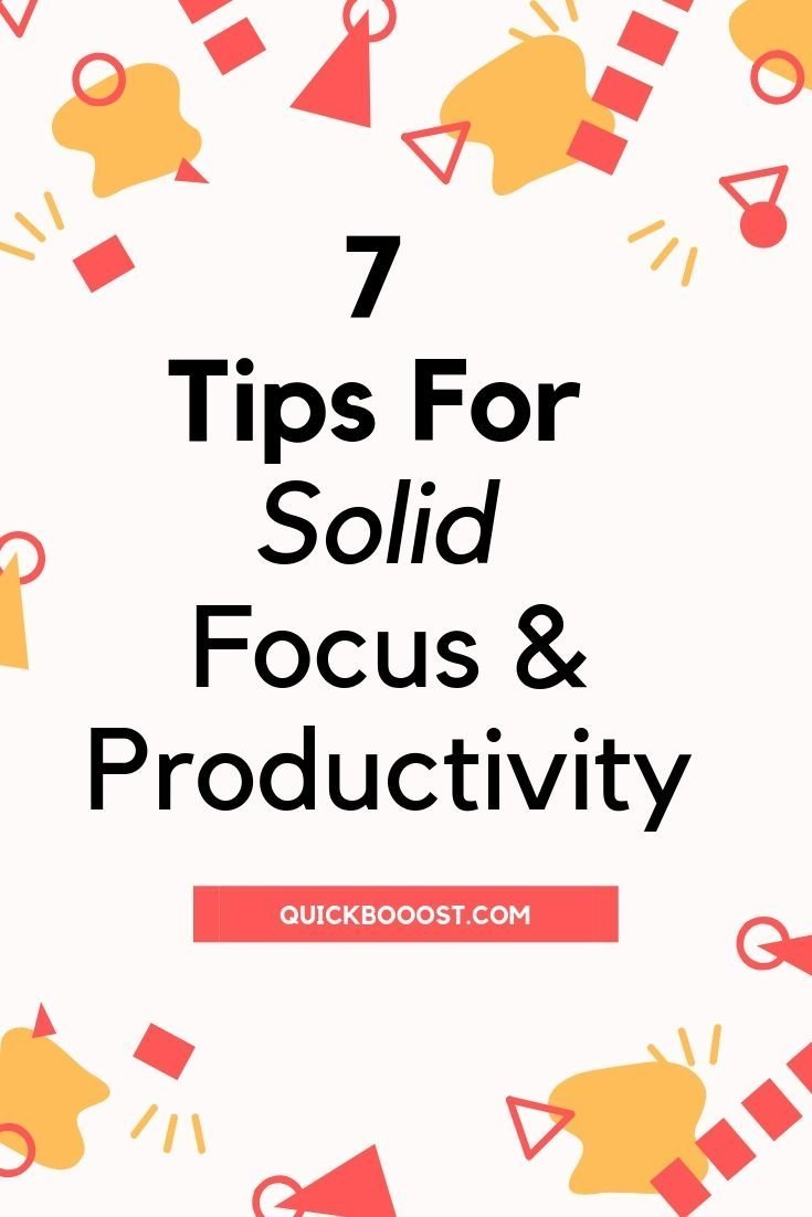 Be more productive and gain day-long focus by utilizing these 7 smart tips. Learn how to stay focused and kickstart your productivity for the better.