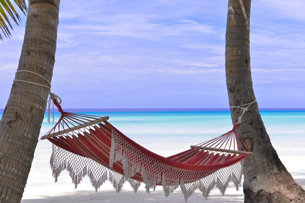 Go ahead. Rest like you were in a hammock. But be sure to also follow the time management strategy of avoiding distraction.