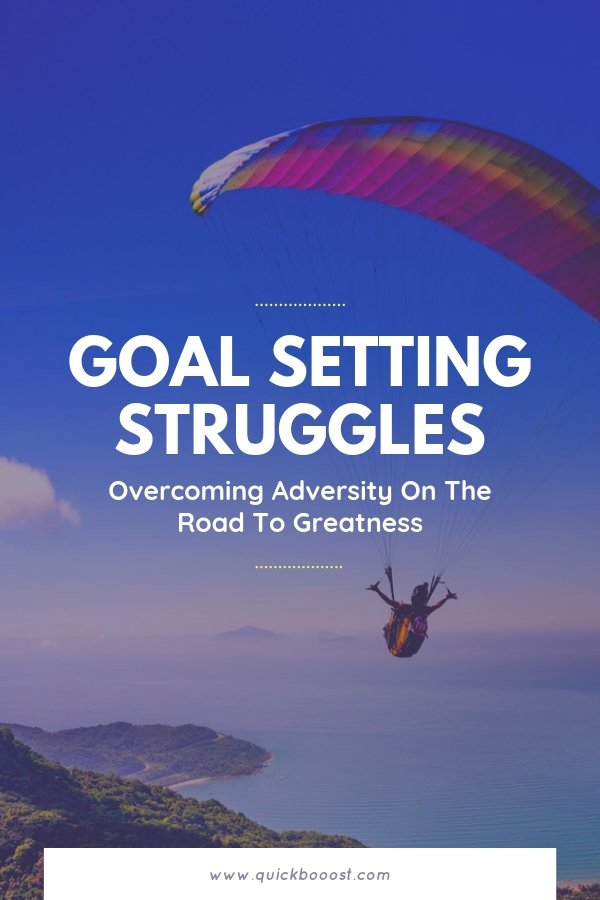 Along your goal setting journey, you will need to overcome adversity time and time again. Learn what overcoming adversity is and how to apply the lessons to your life.