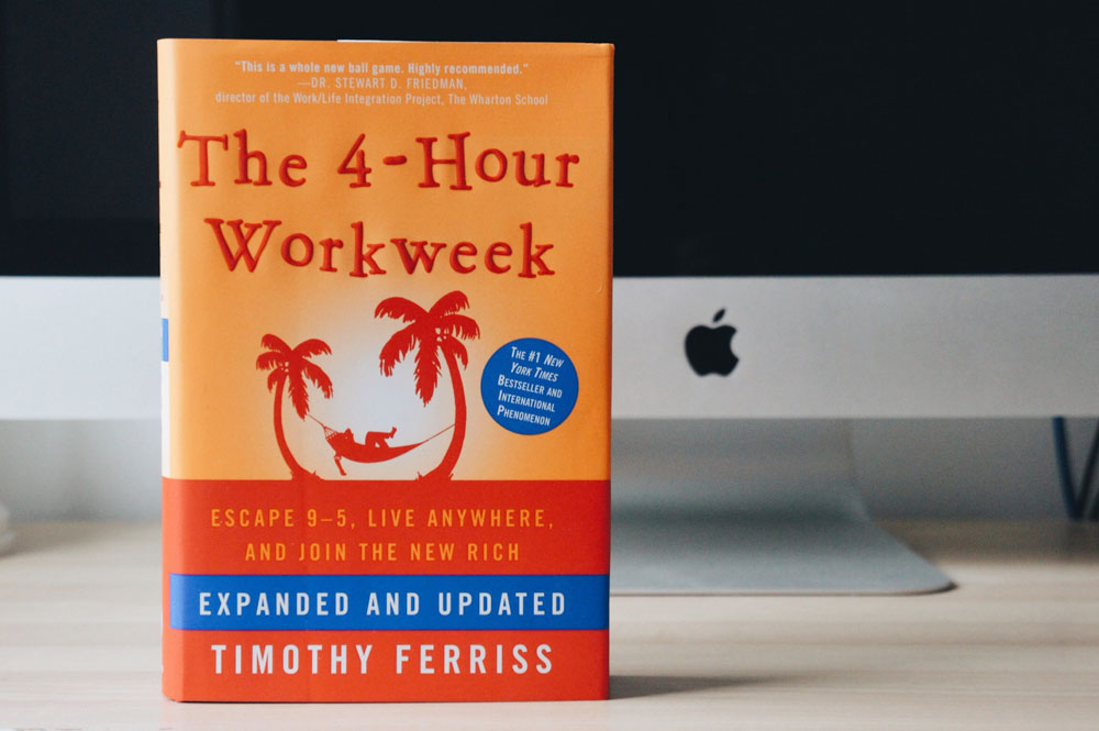 Topping the list of personal development books is The 4-Hour Workweek.