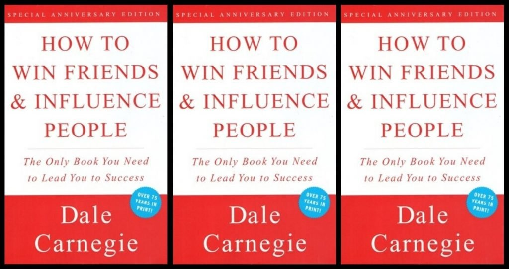A copy of the book, How To Win Friends and Influence People.